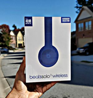Beats Solo³ Wireless (Break Blue) for Sale in Atlanta, GA