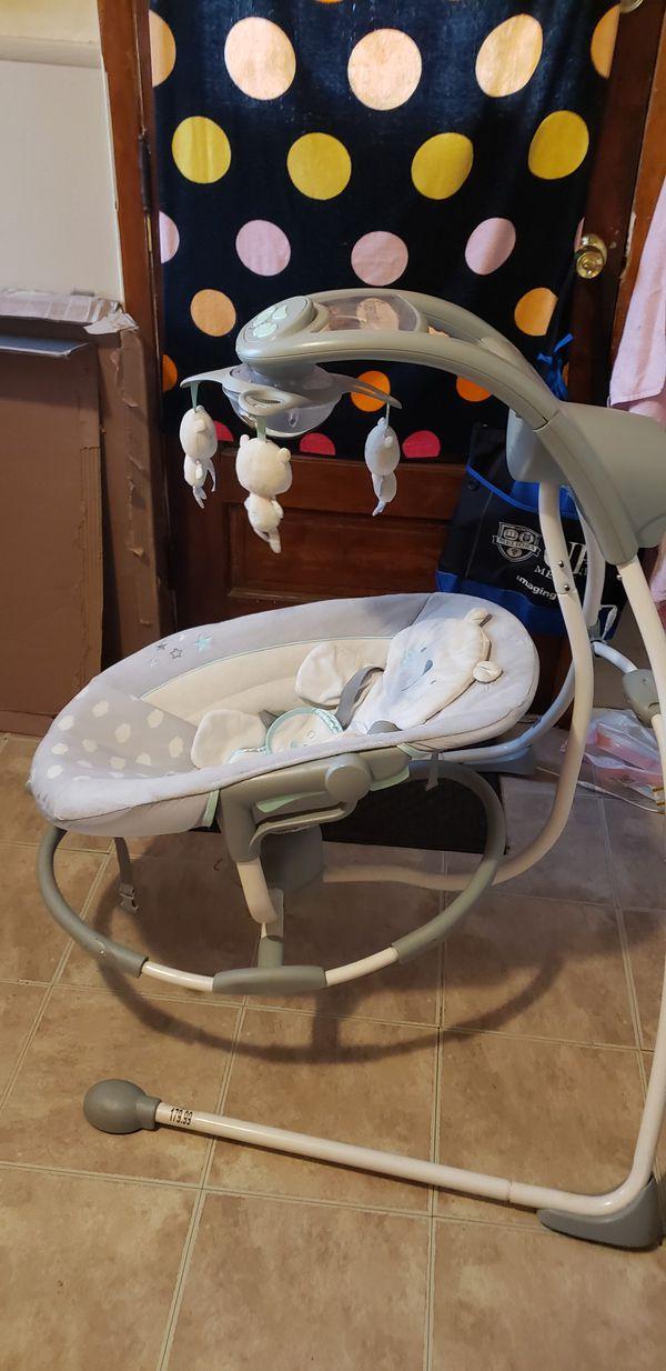 Ingenuity Inlighten Cradling Baby Swing