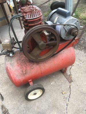 Electric air compressor for Sale in Pasadena, TX