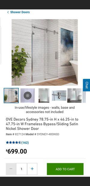 Shower door for Sale in Phoenix, AZ
