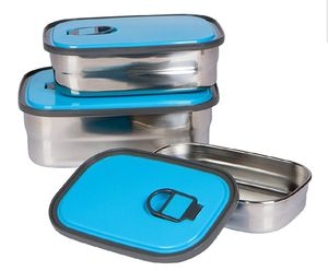 3-Piece Stainless Steel Food Containers for Sale in Round Rock, TX
