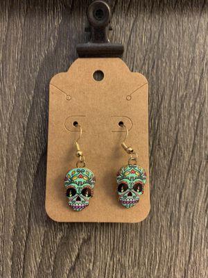 Handmade Dia de los Muertos- Day of the Dead Earrings for Sale in Dover, FL