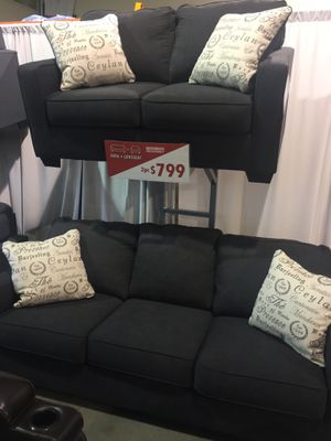2Pc Sofa and Loveseat Set Black Friday Sale for Sale in Maywood Park, OR
