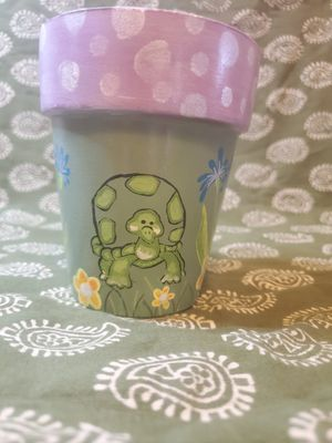 Turtle flower pot for Sale in Oregon City, OR