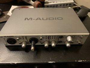 M-Audio FireWire 410 audio recording interface for Sale in Berkeley, CA