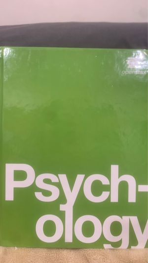 PSYCHOLOGY BOOK - College Level for Sale in Los Angeles, CA