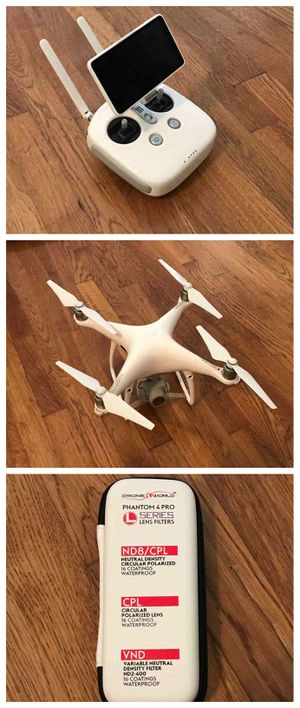 """-💗💗DRONE BRAND NEW DJI Phantom 4 Pro Plus Camera Drone with 5.5"""" Display - White💗 for Sale in Columbus, OH"""