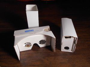 Cardboard holographic lens for Sale in Baltimore, MD