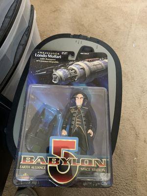 Babylon 5 Ambassador Londo Mollari Action Figure for Sale in Gilbert, AZ