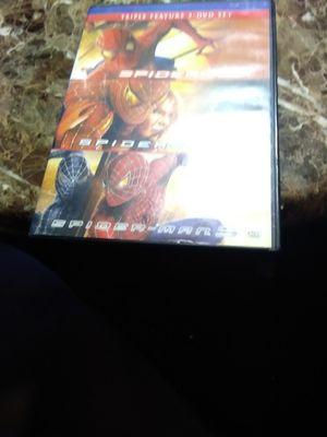 Spiderman 1 2& 3 DVDs for Sale in Birmingham, AL