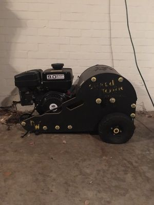 Winch, two wheel with trailer hitch. for Sale in Austin, TX