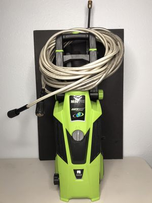EarthWise Electric Pressure Washer 1650 PSI and 4 Tips for Sale in Fort Worth, TX
