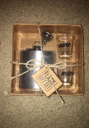 "Flask Gift Set ""ours and Mine"" - Wedding Gift for Sale in Lakeland, FL"