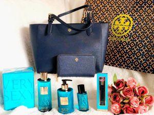 Tory Burch set and Victoria's Secret perfume set all brandnew for Sale in Santa Cruz, CA