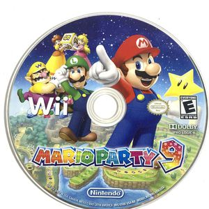 Wii Mario Party 9 Nintendo CD Only Good Condition for Sale in Castro Valley, CA