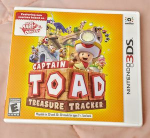 NINTENDO 3DS CAPTAIN TOAD 100%💥💥 for Sale in Escondido, CA