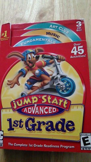 Jump start advanced 1st grade cd for pc for Sale in Hampton, VA