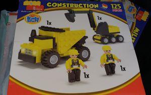 Construction Legos 125 pieces - NEW for Sale in Renton, WA