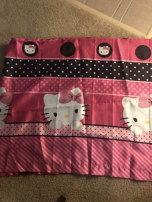 Hello kitty curtain for Sale in Orlando, FL