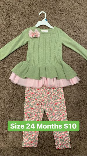 Girl Outfit Size 24 Months for Sale in Covina, CA