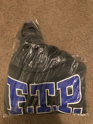FTP Over Dyed Logo Hoodie Sweatshirt Fuck The Population for Sale in Los Angeles, CA