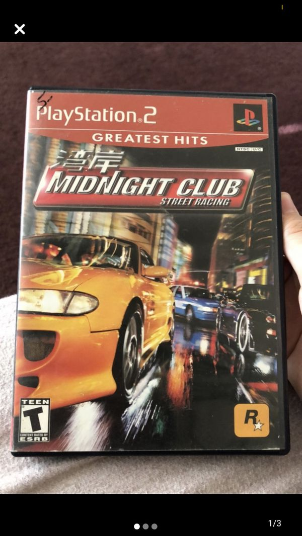 Midnight club street racing for ps2 (complete with manual)