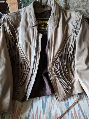 Hudson Leather Jacket woman's for Sale in Denver, CO