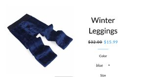 New Leggings (winter gift for her/ yourself) for Sale in Glendale, CA