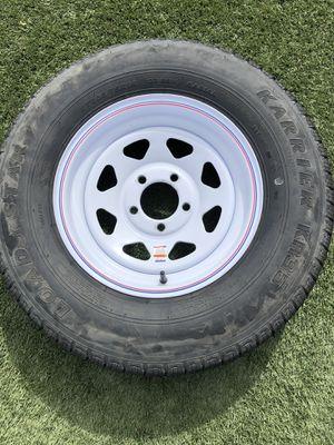 Karrier KR35 trailer tire. for Sale in Las Vegas, NV