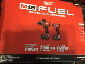 Milwaukee M18 fuel combo for Sale in Manassas, VA