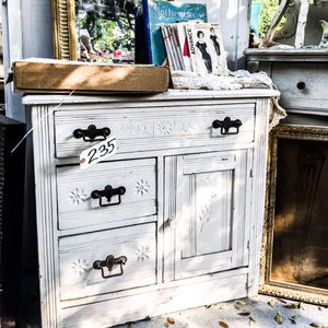 Victorian Eastlake Painted Washstand for Sale in Pomona, CA