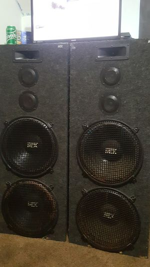 MTX speaker's for Sale in Fort Wayne, IN