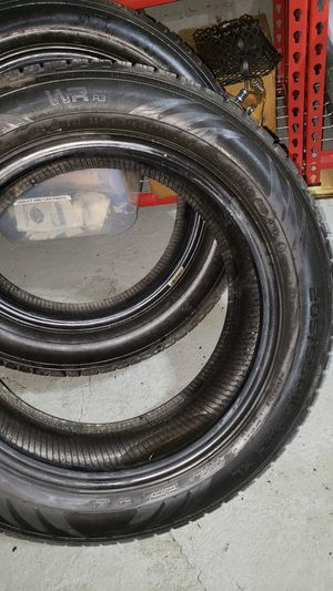 2 Like new 205 55 16 tires for Sale in NO HUNTINGDON, PA