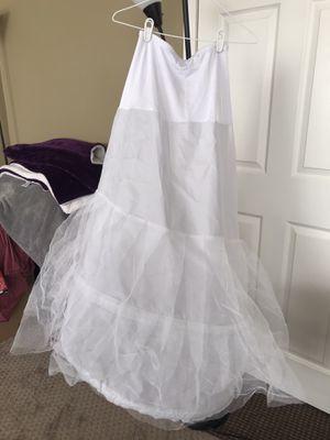 2 Hoops Petticoat Slip Underskirt for Sale in Riverside, CA