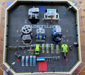 Battlebot Arena Plus 5 Bots for Sale in Killeen,  TX