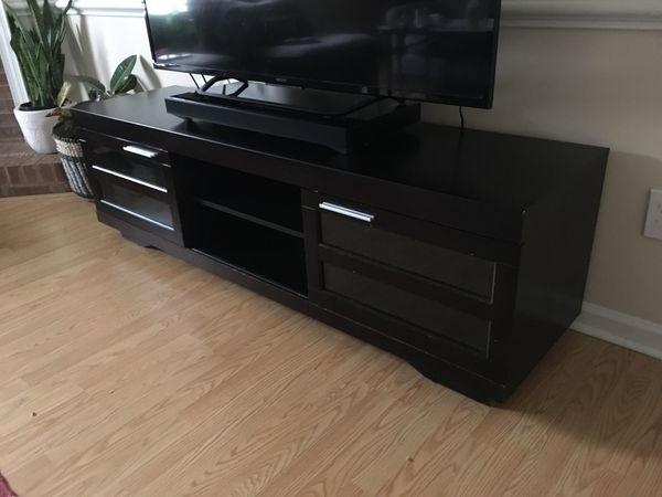 66-Inch Wood TV Bench, TV Stand