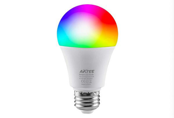 Smart Light Bulb 2.4G(Not 5G), WiFi LED RGBCW Color Changing Bulbs 2700K-6500K with White Lights Work with Alexa, Echo, Google Home and IFTT