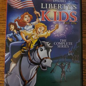 Liberty's Kids - Like New - Full Series Of 40 Episodes for Sale in Ashburn, VA