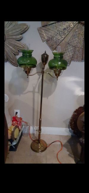Antique oil electric lamp for Sale in Mesa, AZ