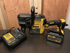 DeWalt DCD460 FLEXVOLT 60-Volt MAX Lithium-Ion Cordless Brushless 1/2 in. Stud and Joist Drill with Battery 6.0Ah, Charger for Sale in Brier, WA