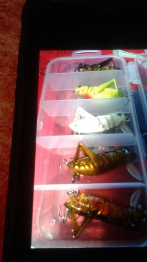 5pk grasshopper fishing lures for Sale in PA, US