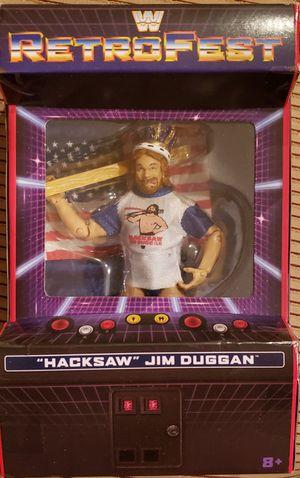 New WWE RETROFEST Hacksaw Jim Duggan Figure. for Sale in Orlando, FL