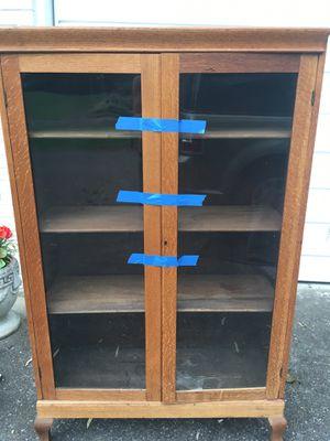 Glass book case (antique) for Sale in Bellevue, TN