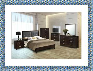 11pc B120 bedroom set free mattress and delivery for Sale in Rockville, MD