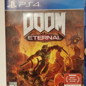 Doom Eternal Ps4 for Sale in Hacienda Heights, CA