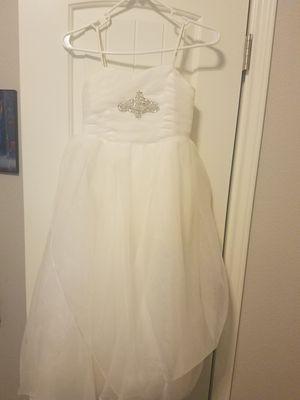 Ivory Flower Girl Dress (size 8) for Sale in Creedmoor, TX