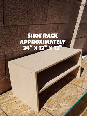 SHOE RACK, MAXIMIZE SMALL SPACE for Sale in Glendale, AZ
