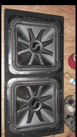 """Kicker l7r 15"""" for Sale in Stockton, CA"""
