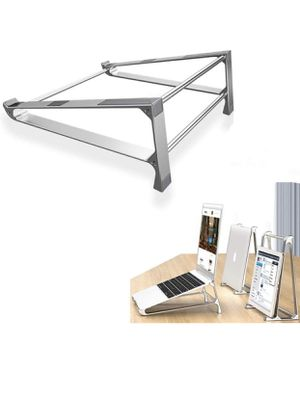 Vertical Laptop Stand Aluminum Alloy Notebook Mount for MacBook Air Pro Lapdesk Non-Slip Tablet Computer Cooling Bracket for Sale in Hollywood, FL