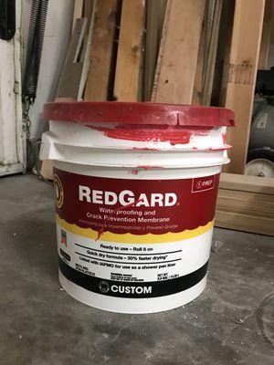 Half container of Red Gard Waterproofing for Sale in Kirkland, WA